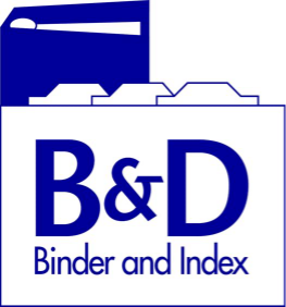 B & D Binder and Index